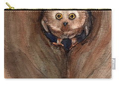 Scardy Owl Carry-all Pouch