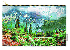 Scenic Mountain Lake Carry-all Pouch