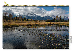 Carry-all Pouch featuring the photograph Schwabacher Landing by Scott Read
