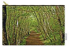 Scotland. Killiecrankie. Path Through The Trees. Carry-all Pouch