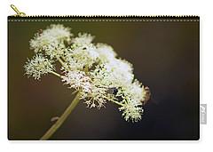 Scotland. Loch Rannoch. White Flowerhead. Carry-all Pouch