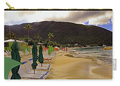 Carry-all Pouch featuring the photograph Sea And Sand by Tony Murtagh