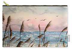 Sea Oats And Seagulls  Carry-all Pouch