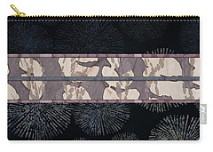 Sea Urchin Contrast Obi Print Carry-all Pouch