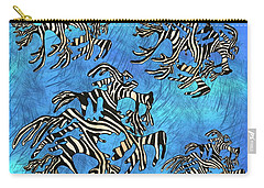 Sea Zebra Dragon 4 Carry-all Pouch