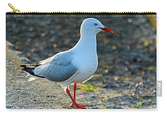 Seagull On The Breakwall Carry-all Pouch