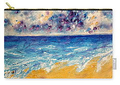 Carry-all Pouch featuring the painting Searching For Rainbows by Tracy Bonin