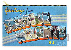 Seaside Heights Greetings Carry-all Pouch