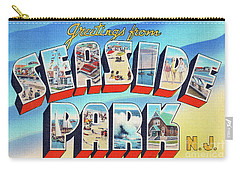 Seaside Park Greetings - Version 2 Carry-all Pouch