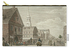 Second Street North From Market St. And Christ Church Carry-all Pouch