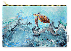 See Turtle Carry-all Pouch