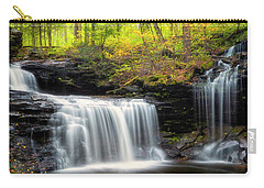 Carry-all Pouch featuring the photograph Seeing Double by Russell Pugh