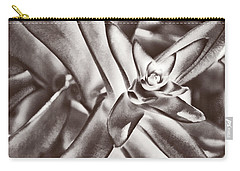 Carry-all Pouch featuring the photograph Sensual Succulent I by Leda Robertson