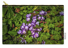 Carry-all Pouch featuring the photograph September Crocus #h9 by Leif Sohlman