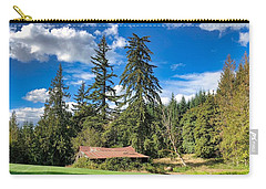 Carry-all Pouch featuring the photograph September Skies by Brian Eberly