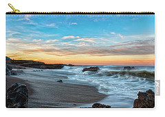 Carry-all Pouch featuring the photograph Serene Brutality by Russell Pugh
