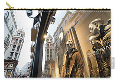 Carry-all Pouch featuring the photograph Sevilla Streets by Alex Lapidus