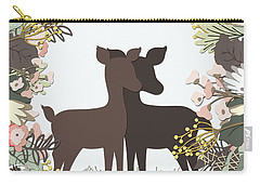 Shadowbox Deer Carry-all Pouch