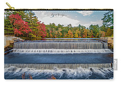 Carry-all Pouch featuring the photograph Shining Bright  by Michael Hughes