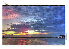 Ship Bottom Sunset Carry-all Pouch