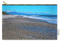 Carry-all Pouch featuring the photograph Ship Creek Beach - New Zealand by Steven Ralser