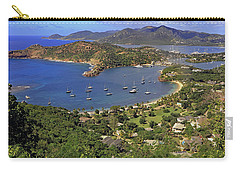 Carry-all Pouch featuring the photograph Shirley Heights by Tony Murtagh