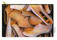 Carry-all Pouch featuring the photograph Shoe Sleeves by Craig J Satterlee