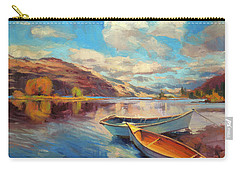Carry-all Pouch featuring the painting Shore Leave by Steve Henderson