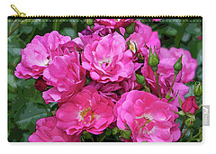 Shrub Rose Stylized Carry-all Pouch