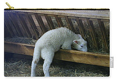 Shy Little Lamb Carry-all Pouch