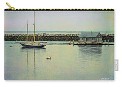 Carry-all Pouch featuring the photograph Sigh Of A Sailor by Mike Braun