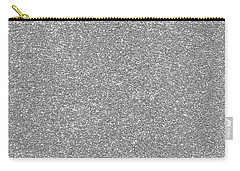 Carry-all Pouch featuring the photograph Silver Glitter  by Top Wallpapers