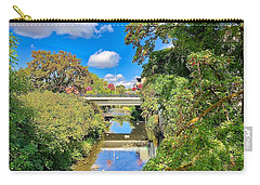 Carry-all Pouch featuring the photograph Silverton Gazing by Brian Eberly
