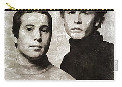 Simon And Garfunkel Paintings Carry-All Pouches