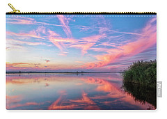 Carry-all Pouch featuring the photograph Simple Reflections by Russell Pugh