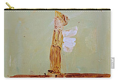 Simply Sweet Angel Boy Carry-all Pouch