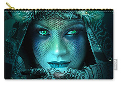 Sister Green Eyes Carry-all Pouch