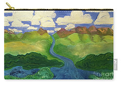Sky River To Sea Carry-all Pouch