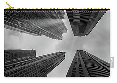 Skyscrapers Reach The Heaven Carry-all Pouch
