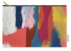 Organic Abstraction Mixed Media Carry-All Pouches
