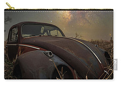 Carry-all Pouch featuring the photograph Slug Bug 'rust' by Aaron J Groen