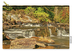 Carry-all Pouch featuring the photograph Small Mountain Stream by Meta Gatschenberger