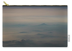 Carry-all Pouch featuring the photograph Smoke From A Distant Fire by Alex Lapidus