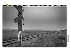 Smoke Haze Over The Prairie Carry-all Pouch