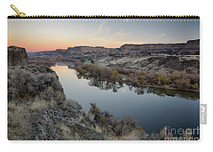 Snake River Dawn Carry-all Pouch