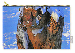 Snowy Gorilla Carry-all Pouch