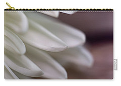 Soft White Petals-1 Carry-all Pouch