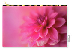 Carry-all Pouch featuring the photograph Softly Looking Up by Mary Jo Allen