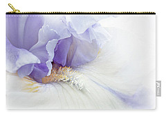Softness Of A Lavender Iris Flower Carry-all Pouch