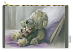 Carry-all Pouch featuring the pastel Someone Waits For Me by MM Anderson
